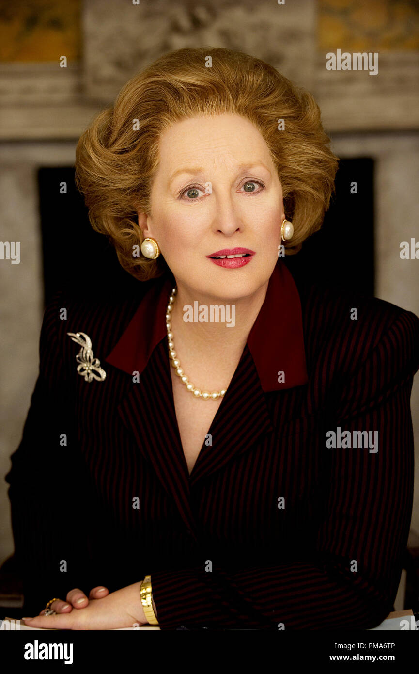 Meryl Streep, 'The Iron Lady' 2011 Pathe - Stock Image