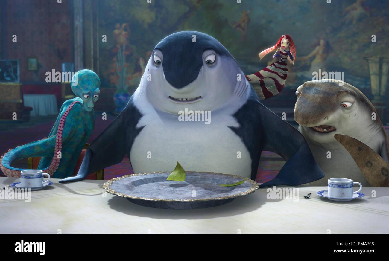 Don Lino Shark Tale 2004 Dreamworks Stock Photo Alamy