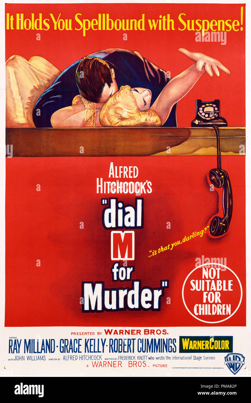24x36 Dial M for Murder Vintage Movie Poster