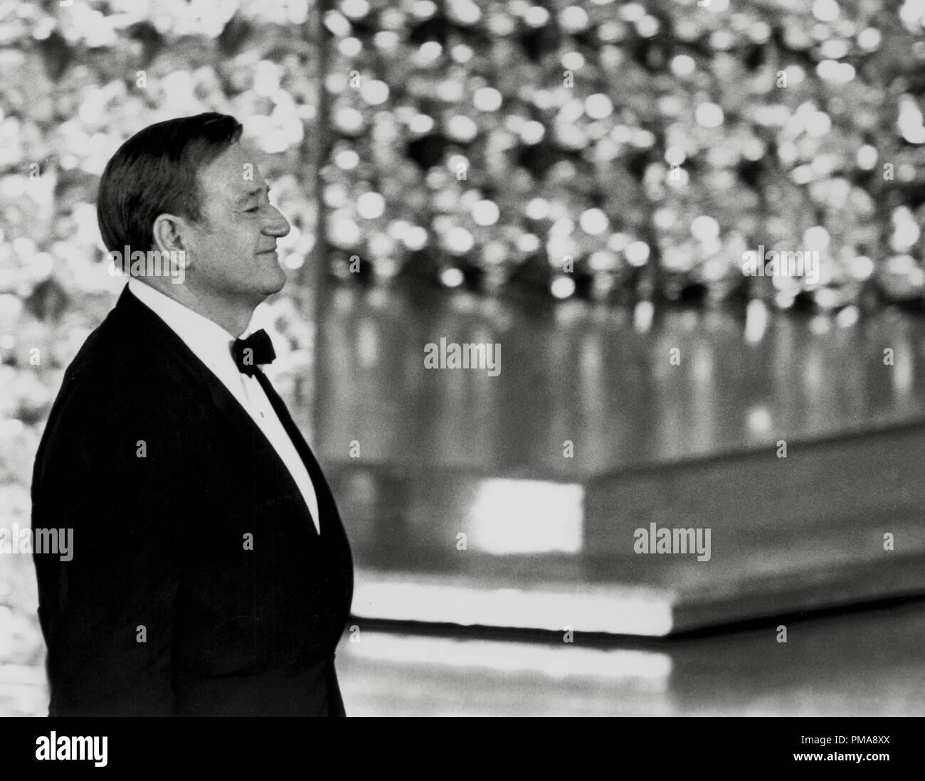 John Wayne at the 42nd Annual Academy Awards, 1970  File Reference # 31955_686THA - Stock Image