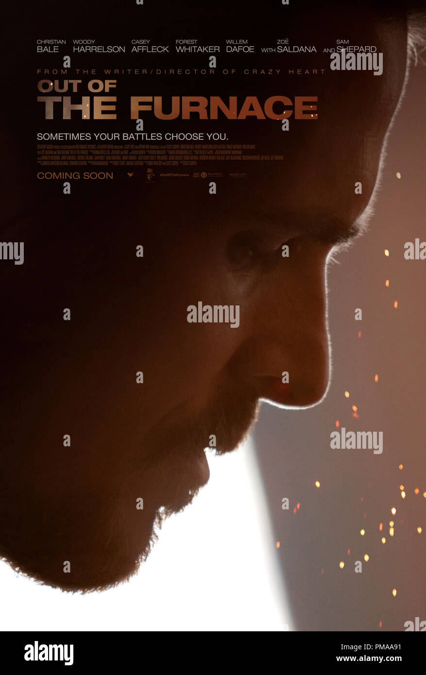 Relativity Media's 'Out of the Furnace' Poster - Stock Image