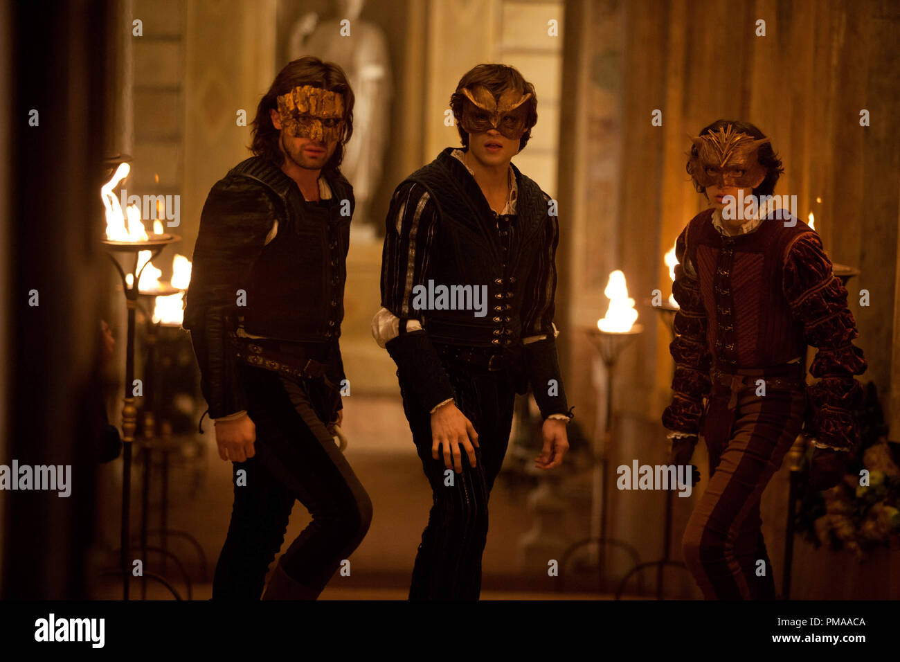 Scene from Relativity Media's 'ROMEO AND JULIET'. - Stock Image