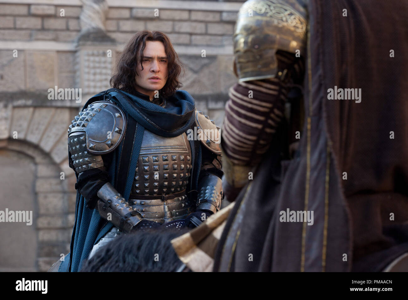 Ed Westwick in Relativity Media's 'ROMEO AND JULIET'. - Stock Image