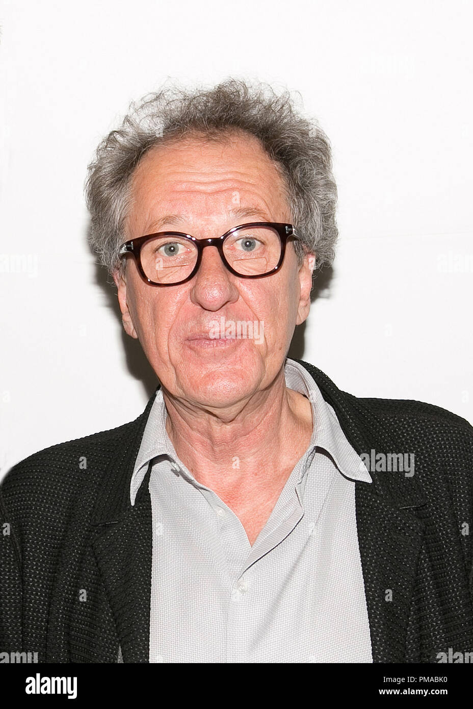 Geoffrey Rush 'The Book Thief' Portrait Session, November 1, 2013. Reproduction by American tabloids is absolutely forbidden. File Reference # 32182_007JRC  For Editorial Use Only -  All Rights Reserved - Stock Image