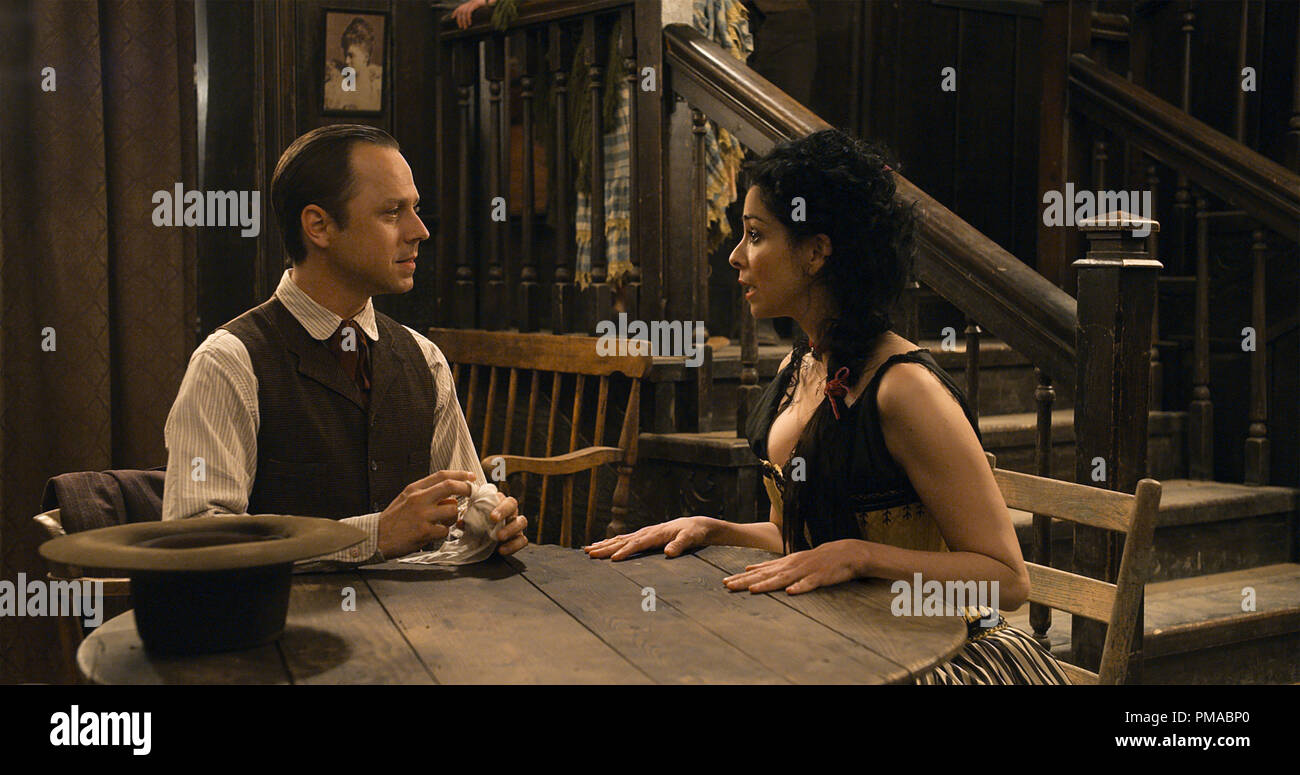 Edward Giovanni Ribisi Courts Ruth Sarah Silverman In A Million Ways To Die In The West