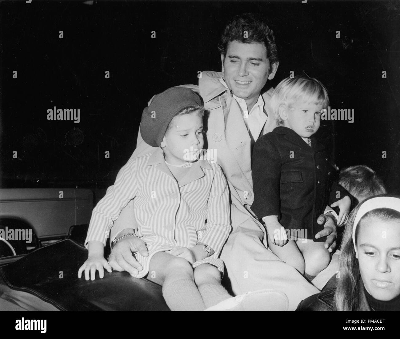 Lynn Christmas Parade 2019 Michael Landon with wife Lynn and children at the Hollywood