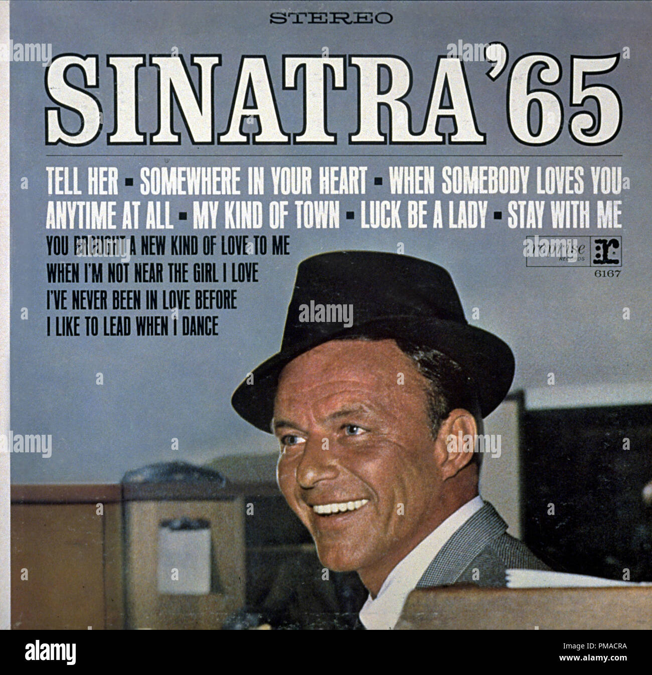 Sinatra '65: The Singer Today is a 1965 compilation album by Frank Sinatra  File Reference # 32368_418THA - Stock Image