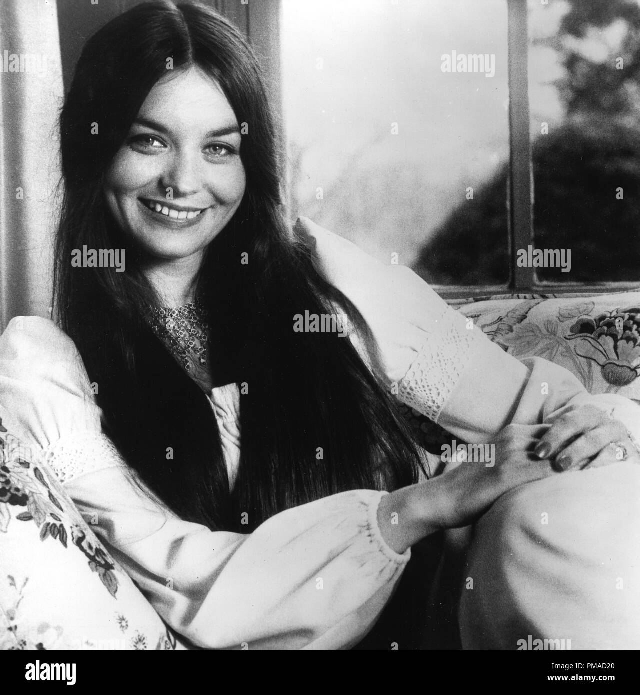 Crystal Gayle circa 1974   File Reference # 32368_567THA - Stock Image