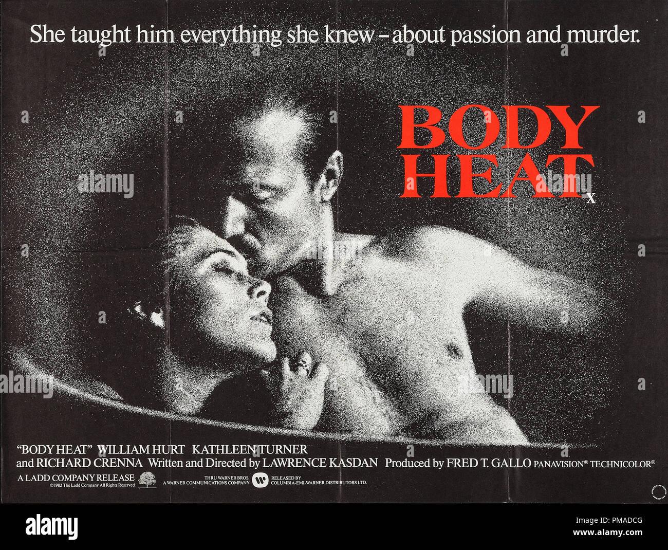 Body Heat Poster Stock Photos & Body Heat Poster Stock
