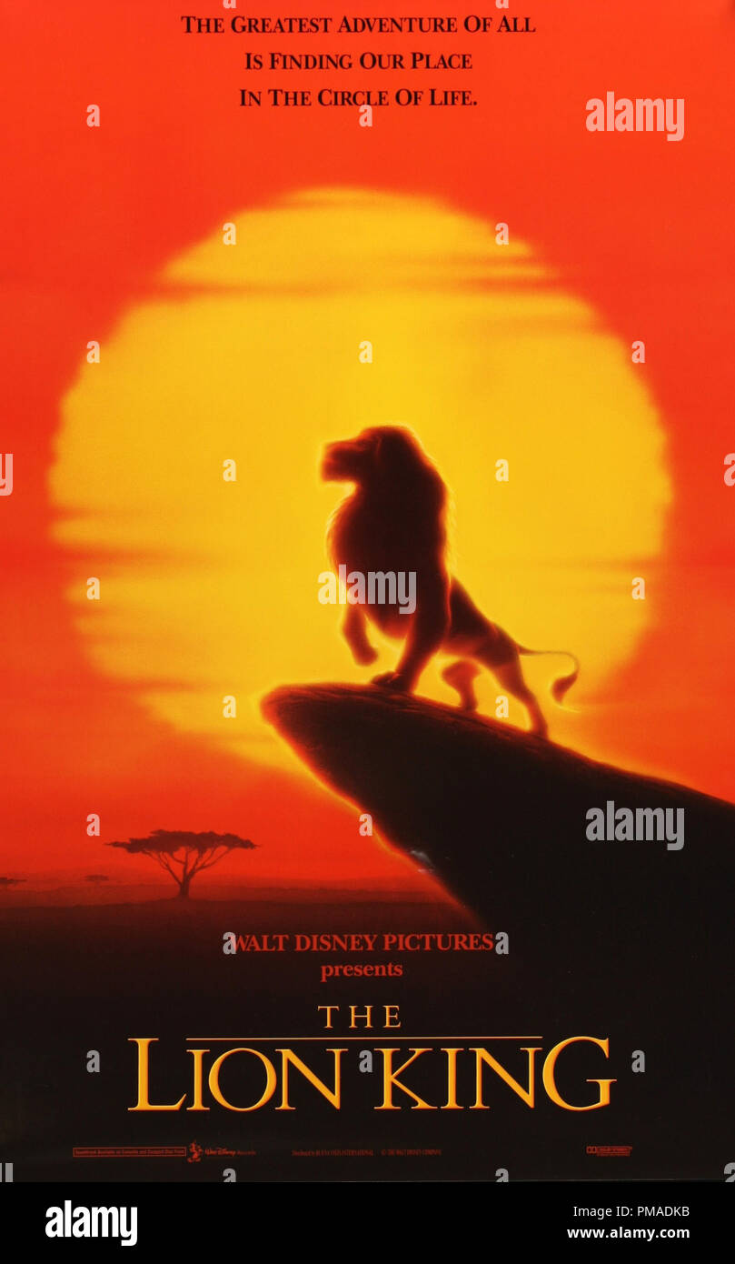 the lion king 2019 affiche