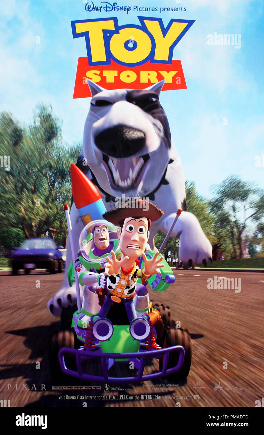 'Toy Story' - US Poster 1995 Walt Disney Pictures   File Reference # 32509_363THA - Stock Image