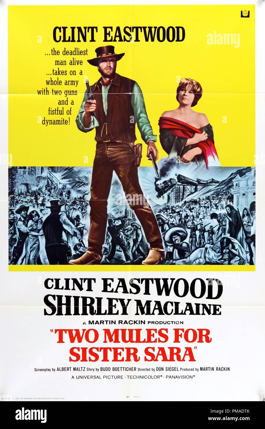 Two Mules for Sister Sara  - US 1970 Universal Pictures Clint Eastwood fe88b006eac