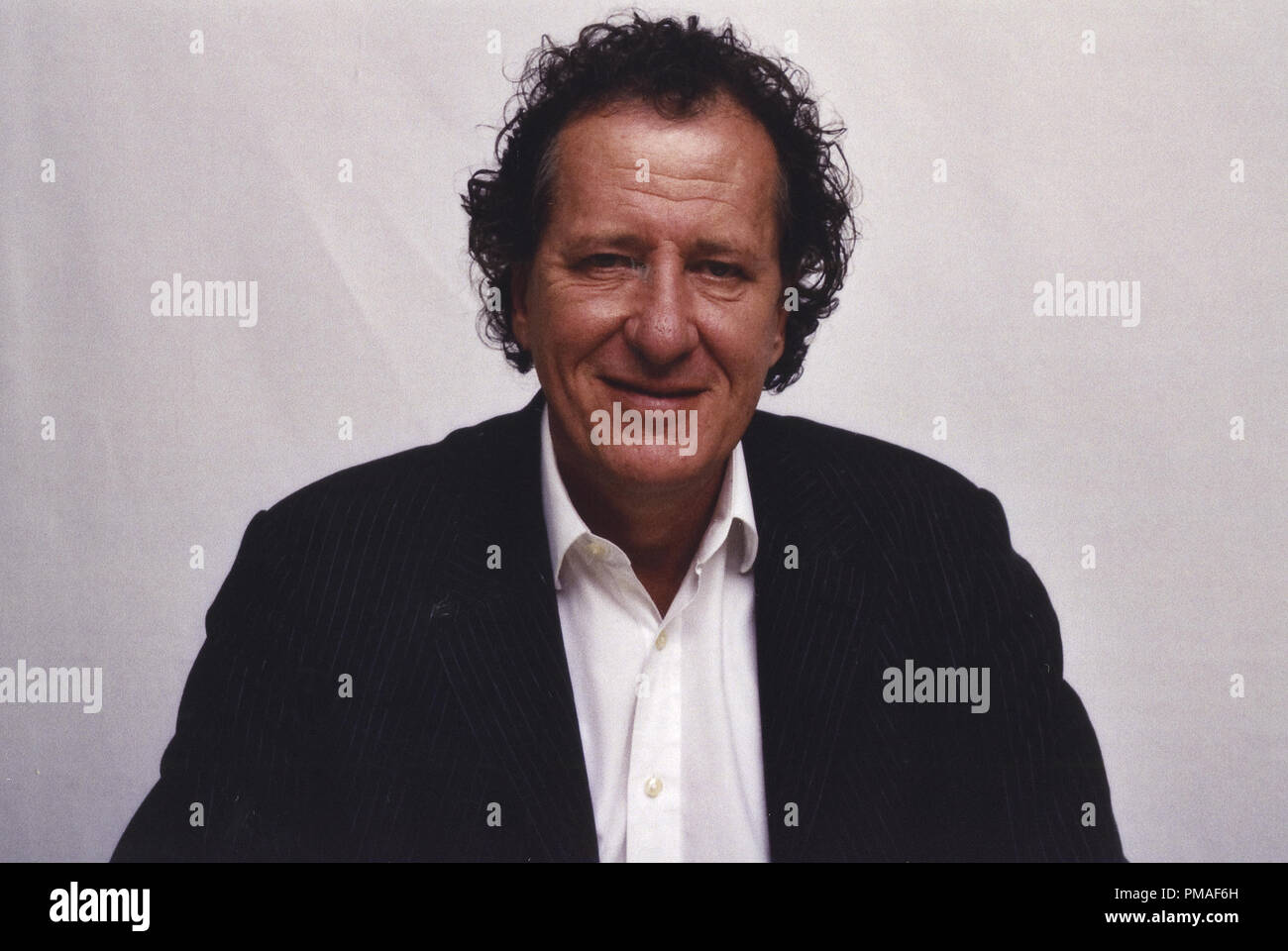 Portrait of Geoffrey Rush, circa 2005 © JRC /The Hollywood Archive - All Rights Reserved  File Reference # 32633_302JRC - Stock Image