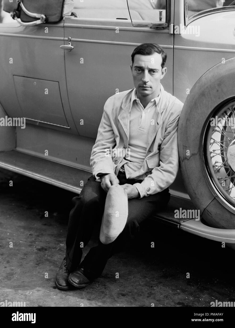 Silent film comedian Buster Keaton, circa 1924 File Reference ...
