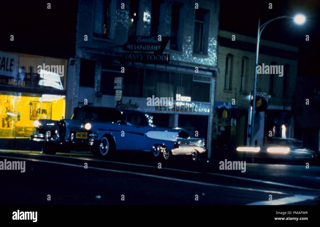 Studio released publicity film still from 'American Graffiti'  1973 Universal Pictures   File Reference # 32633_827THA - Stock Image