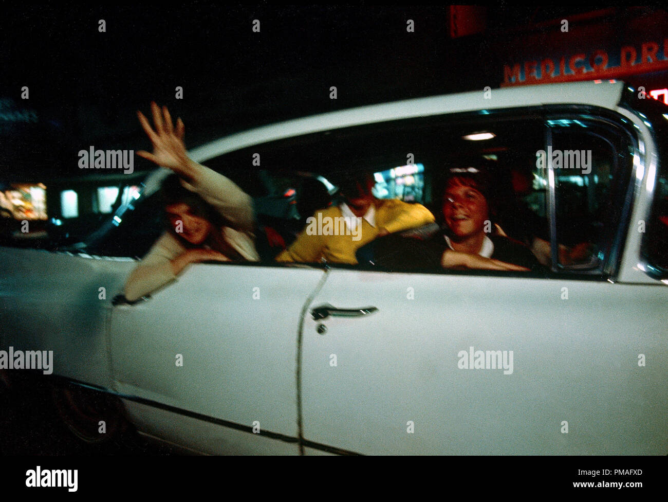 Studio released publicity film still from 'American Graffiti' 1973 Universal Pictures   File Reference # 32633_842THA - Stock Image