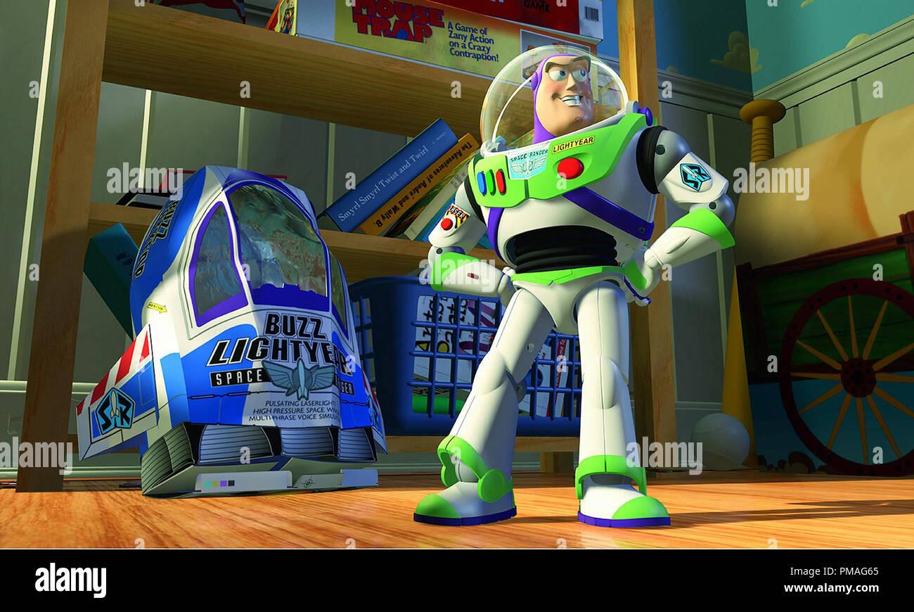 'Toy Story' (1995) Disney/Pixar  Buzz Lightyear - Stock Image