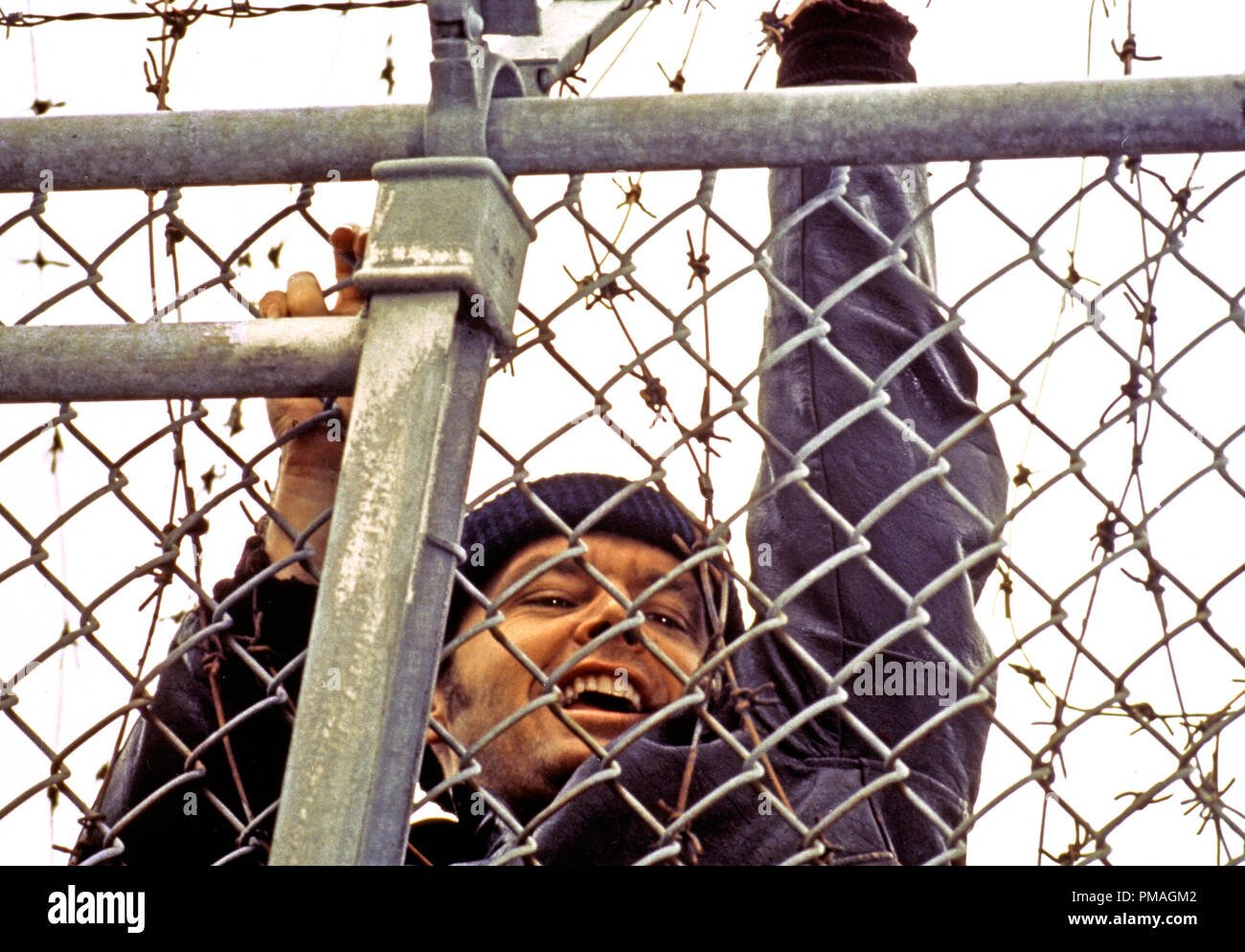 Jack Nicholson,'One Flew Over the Cuckoo's Nest'  1975 UA   File Reference # 32733_176THA - Stock Image