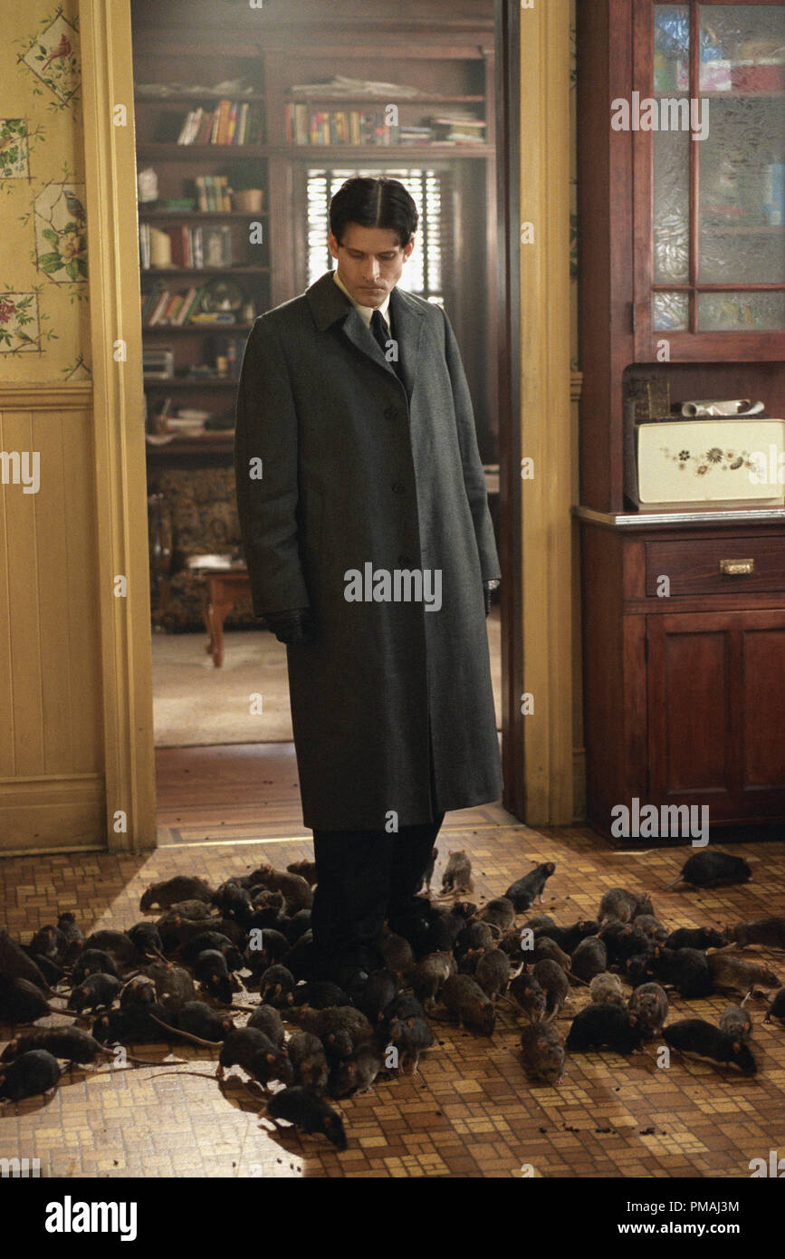 "Crispin Glover as ""Willard"" in New Line Cinema's horror film, Willard. 2003 Stock Photo"