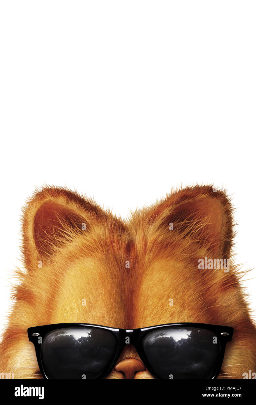 Garfield The Movie 2004 Poster Stock Photo Alamy
