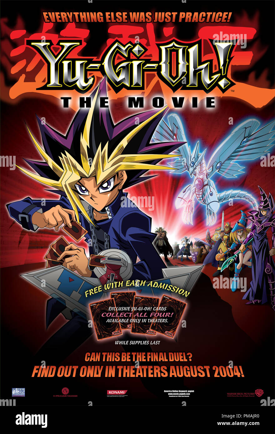 'Yu-Gi-Oh The Movie' (2004) Poster - Stock Image
