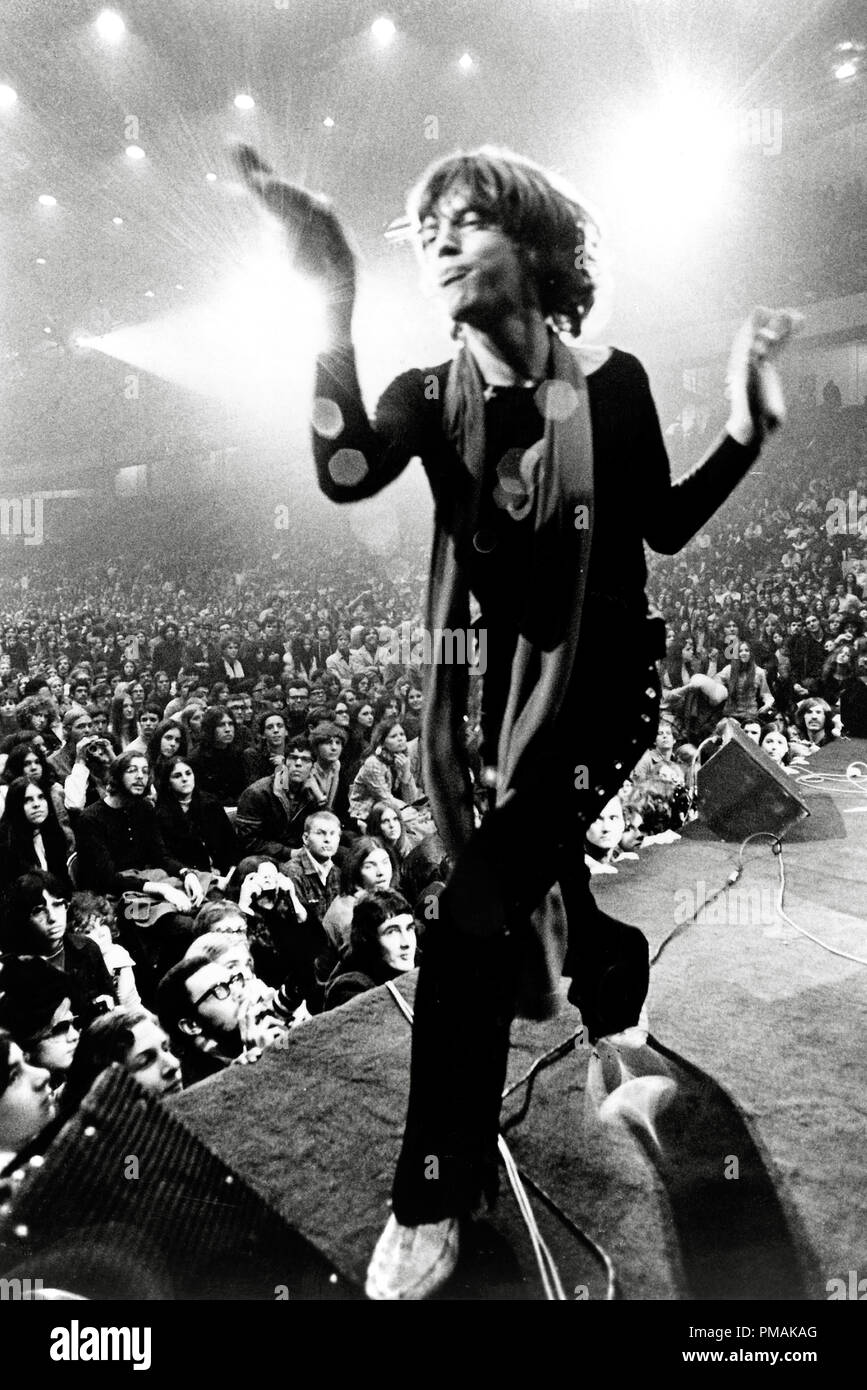 Mick Jagger, 'Gimme Shelter' (1970) 20th Century Fox  File Reference # 33300_361THA - Stock Image