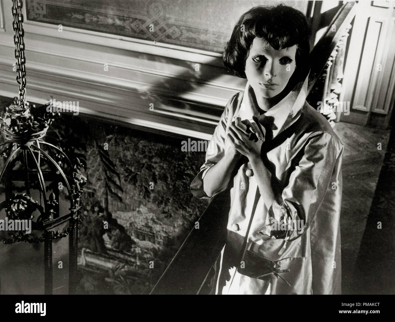 Edith Scob,'Eyes without a Face' (1960) Lux Film  AKA  Les Yeux sans visage    File Reference # 33300_419THA - Stock Image