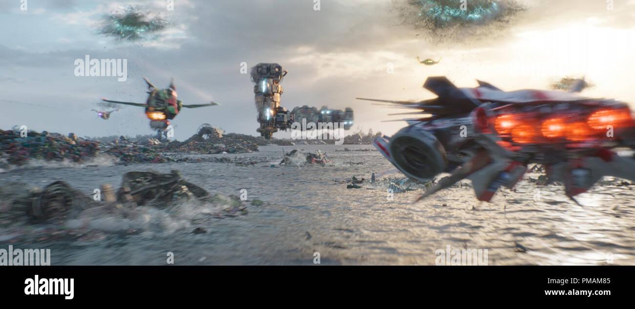 Thor: Ragnarok (2017) Walt Disney Studios  Scene Still Stock Photo