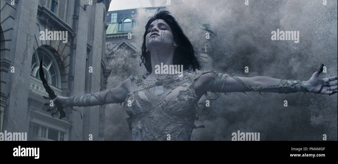 SOFIA BOUTELLA as Ahmanet in a spectacular, all-new cinematic version of the legend that has fascinated cultures all over the world since the dawn of civilization: 'The Mummy' (2017) Universal - Stock Image