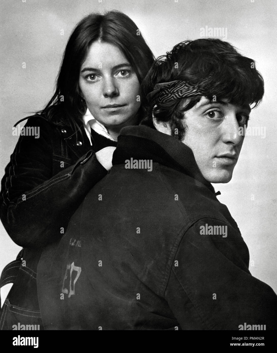 "Film Still/Publicity Still of ""The Panic in Needle Park"" Kitty Winn, Al Pacino 1971 20th Century Fox Cinema Publishers Collection - No Release - For Editorial Use Only.   File Reference # 33505 287THA Stock Photo"