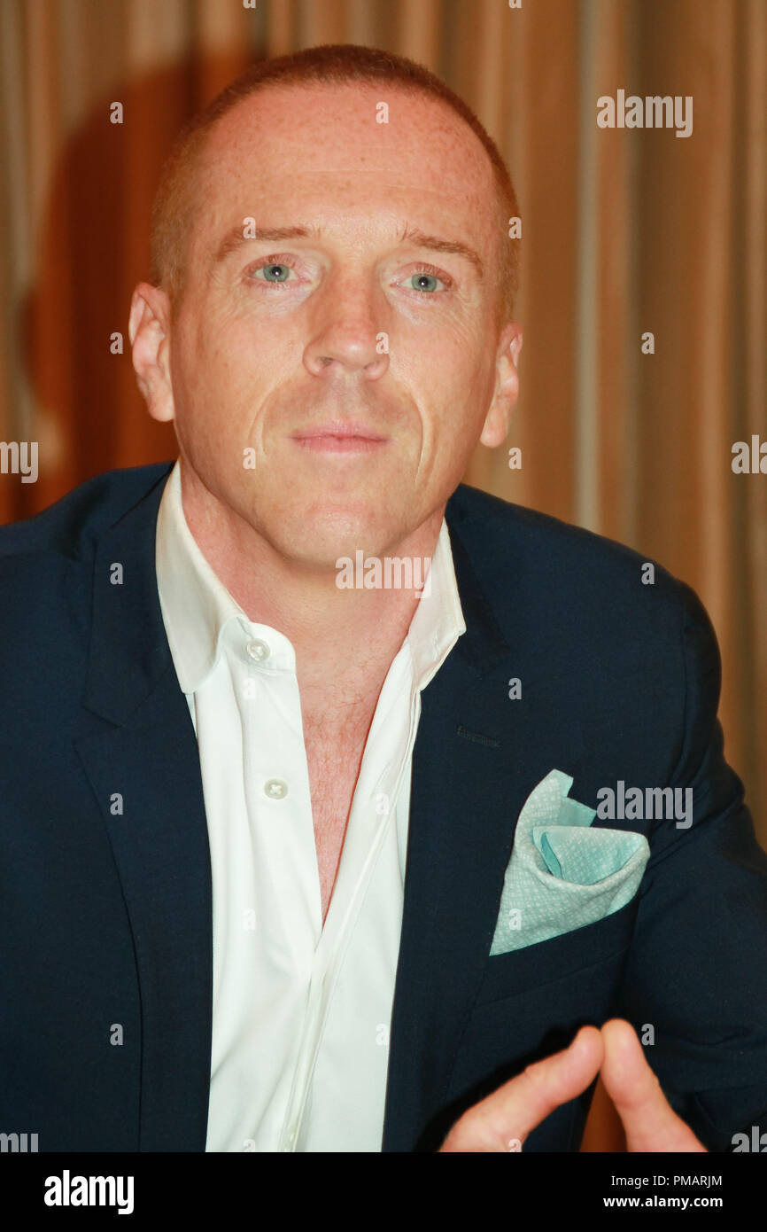 Damian Lewis 'Homeland' TV Series Portrait Session, July 29, 2013. Reproduction by American tabloids is absolutely forbidden. File Reference # 32070_020JRC  For Editorial Use Only -  All Rights Reserved - Stock Image