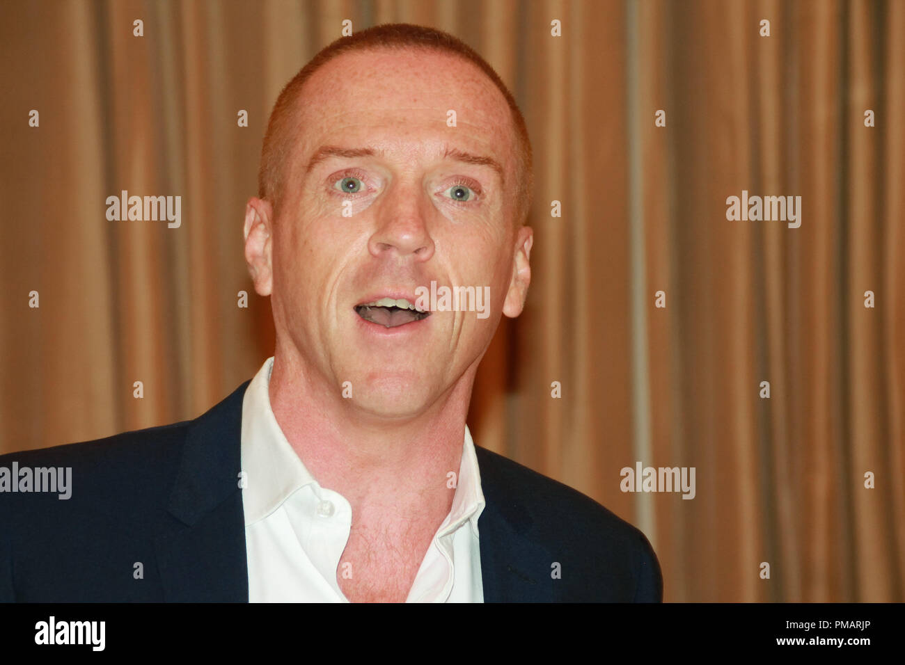 Damian Lewis 'Homeland' TV Series Portrait Session, July 29, 2013. Reproduction by American tabloids is absolutely forbidden. File Reference # 32070_021JRC  For Editorial Use Only -  All Rights Reserved - Stock Image