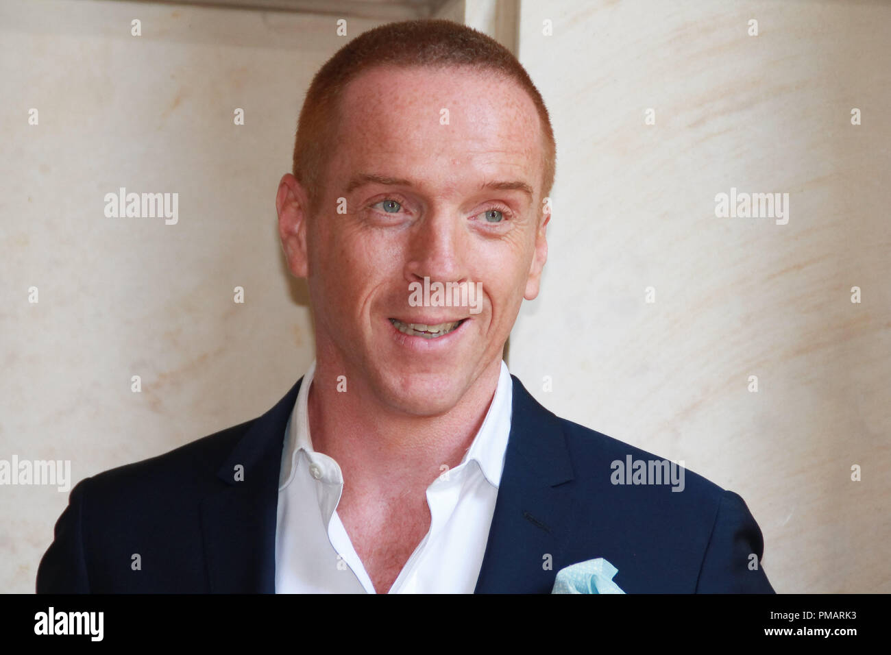 Damian Lewis 'Homeland' TV Series Portrait Session, July 29, 2013. Reproduction by American tabloids is absolutely forbidden. File Reference # 32070_024JRC  For Editorial Use Only -  All Rights Reserved - Stock Image