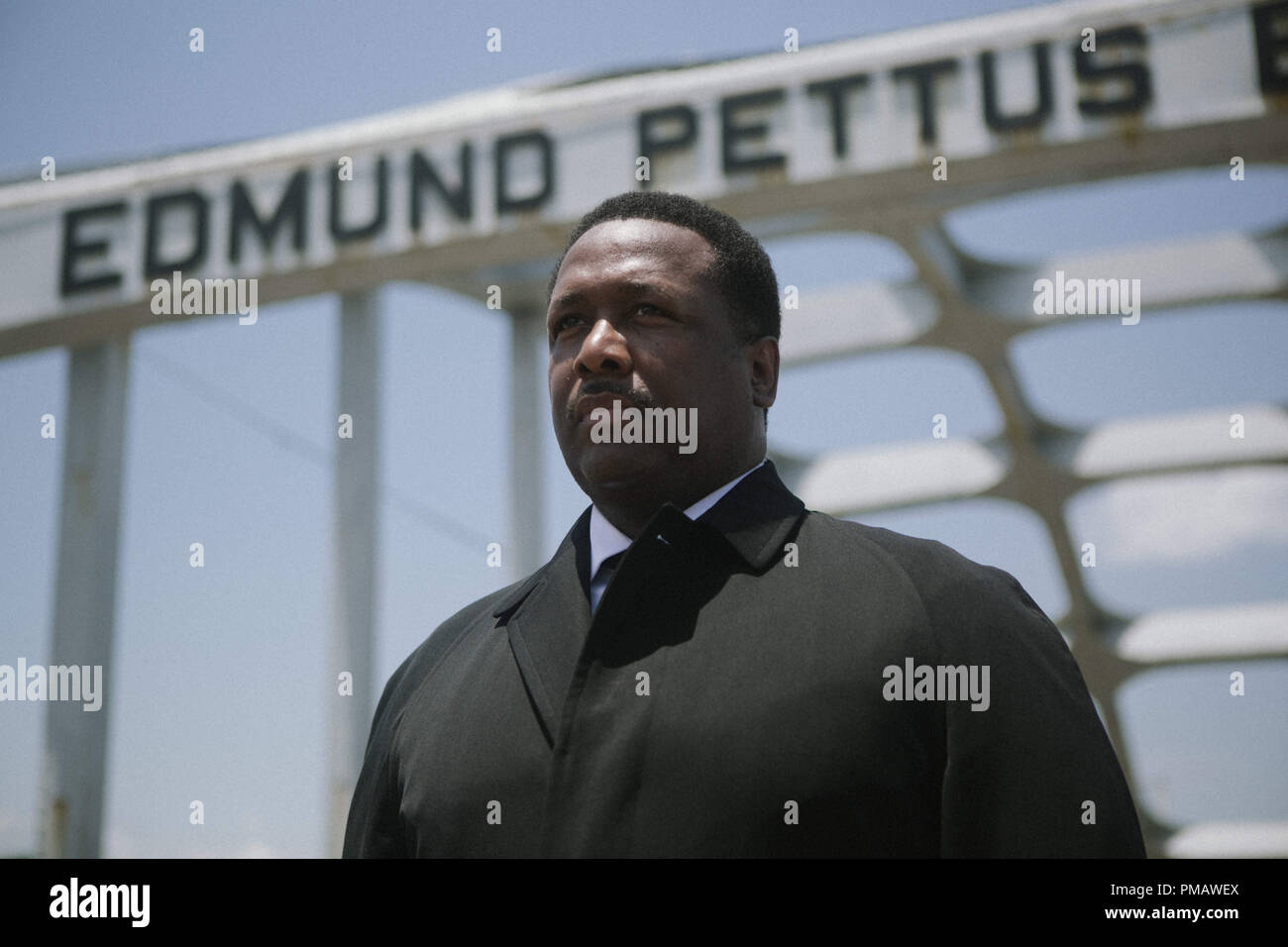 Wendell Pierce plays Rev. Hosea Williams in SELMA, from Paramount Pictures, Pathé, and Harpo Films. - Stock Image