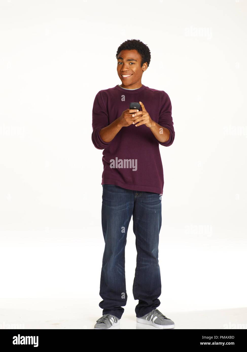 'Community' Season 2 (2010 - 2011) Donald Glover - Stock Image