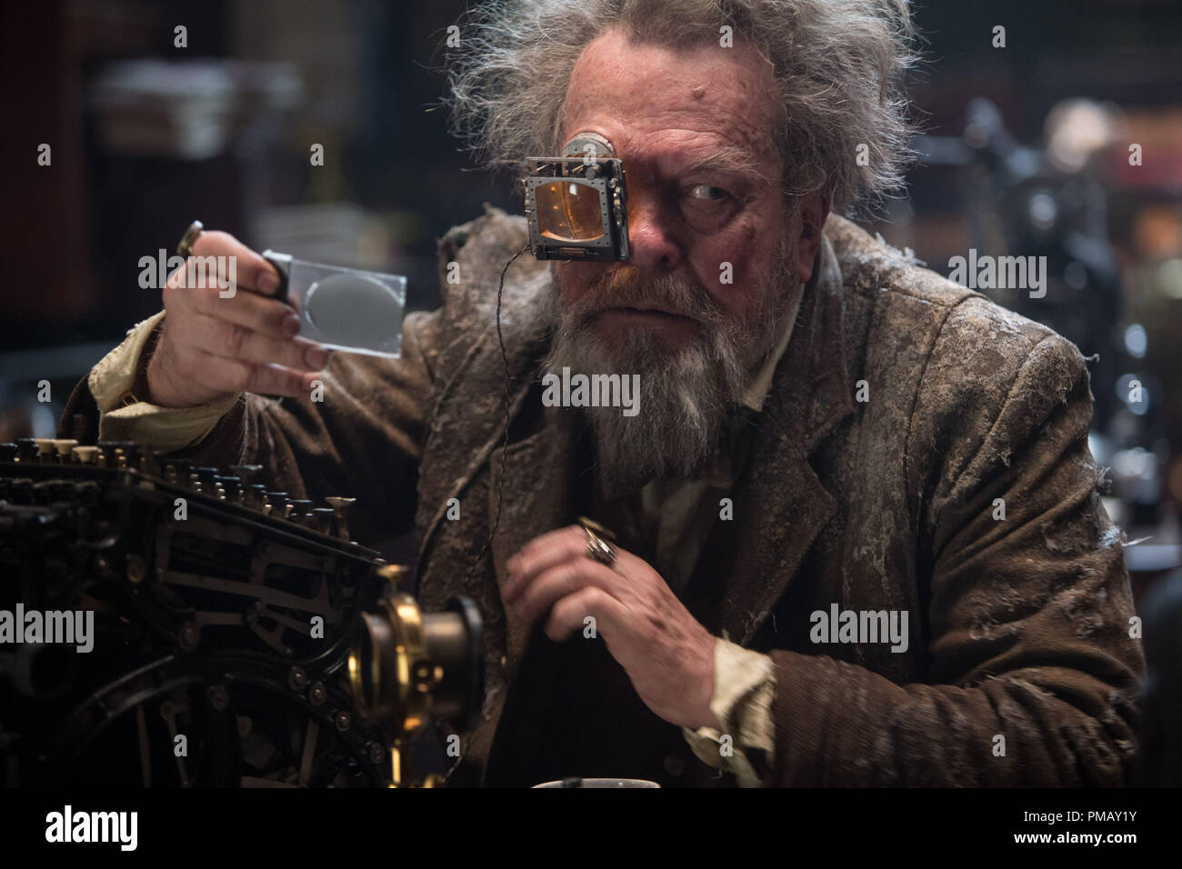 'Jupiter Ascending' (2015)  TERRY GILLIAM as Seal and Signet Minister - Stock Image