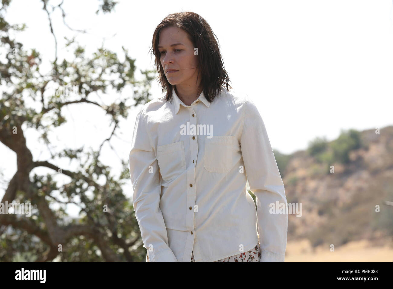 THE BRIDGE - 'Jubilex' - Episode 13 (Airs; Wednesday, October 1, 10:00 pm e/p) Pictured: Franka Potente as Eleanor Nacht. CR: Byron Cohen/FX Network - Stock Image
