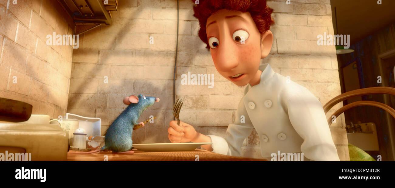 Remy Left Linguini Right Ratatouille 2007 2007 Disney Pixar Stock Photo Alamy
