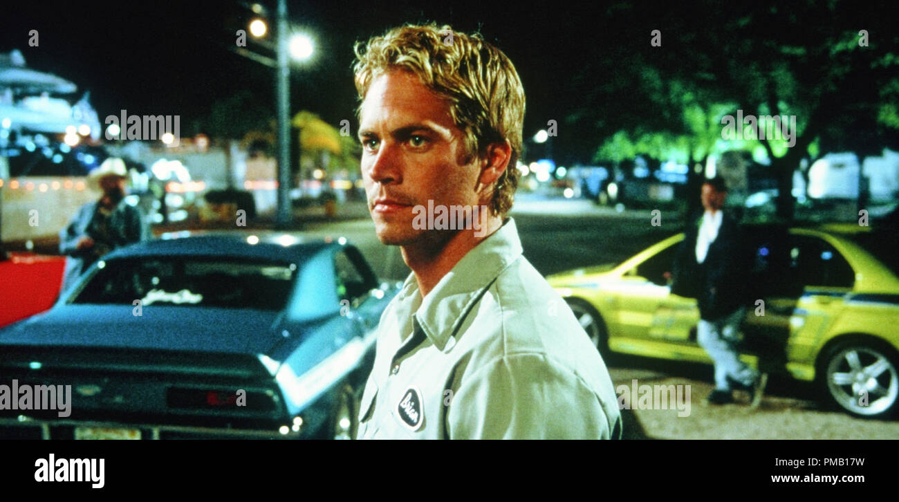Paul Walker 2 Fast 2 Furious 2003 Universal Studios File Reference 33018 010tha For Editorial Use Only All Rights Reserved Stock Photo Alamy