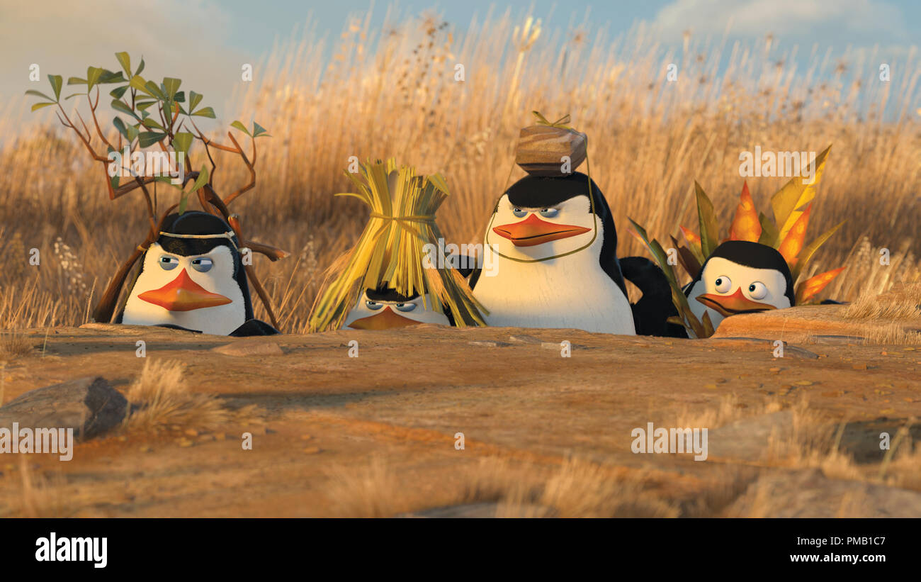 Left To Right Penguins Kowalski Chris Miller Rico The Skipper Tom Mcgrath And Private Christopher Knights