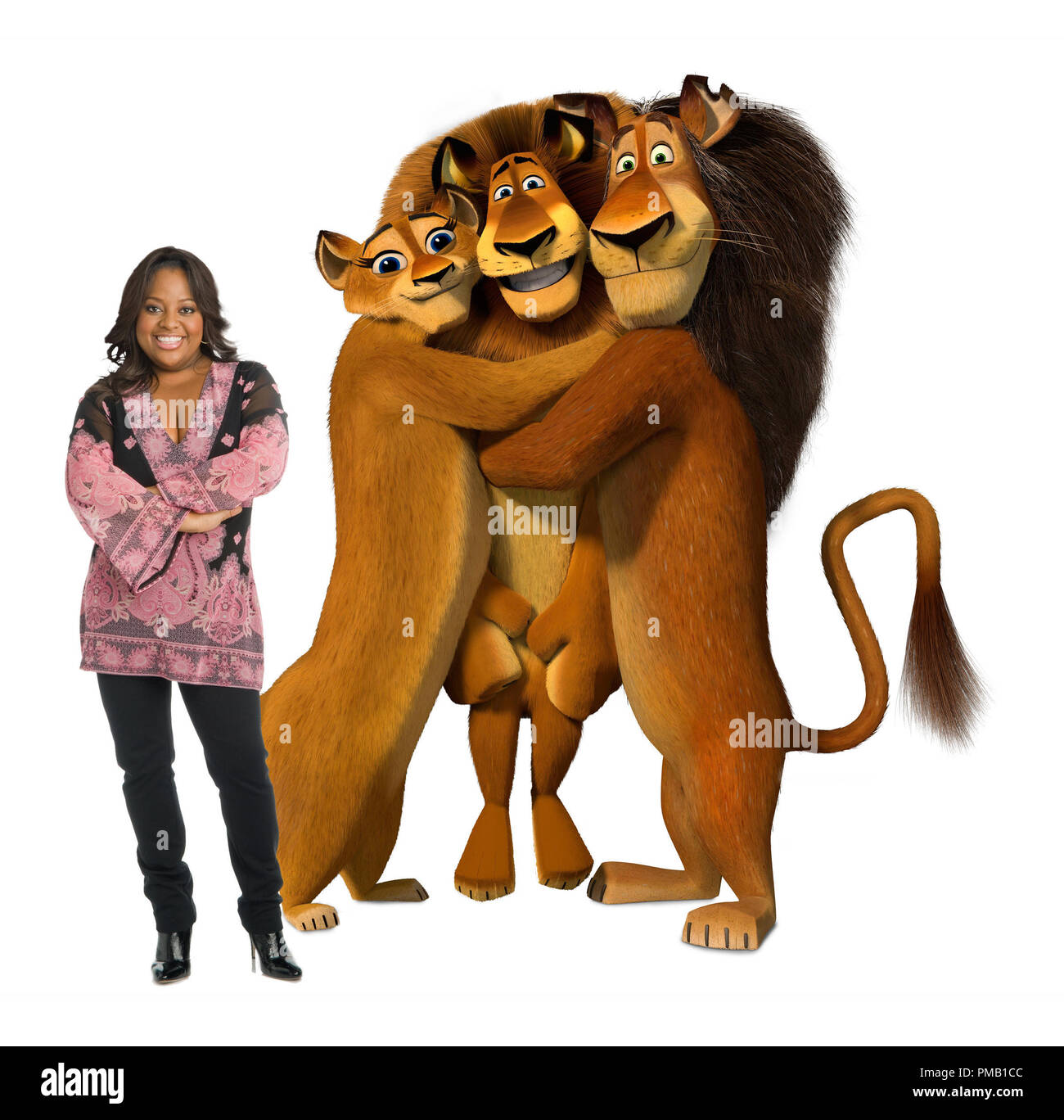 SHERRI SHEPHERD voices Alex's Mom (left) in DreamWorks