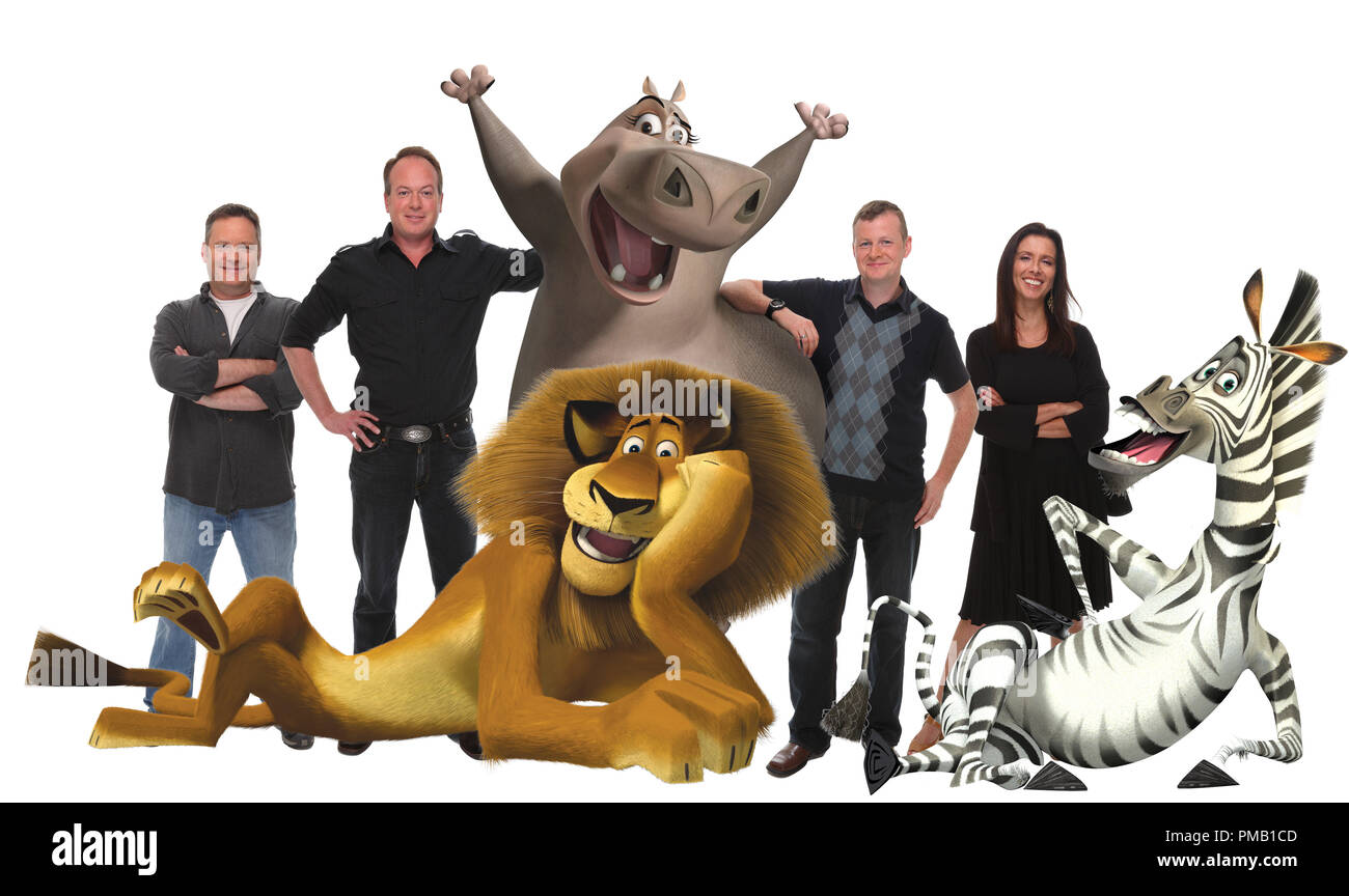 Left to right) The filmmakers-and some of the zoosters-from