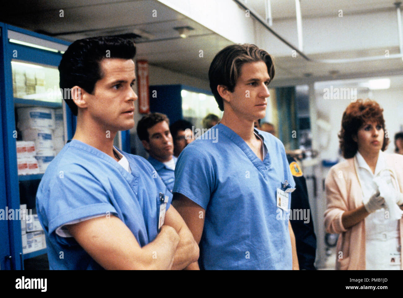 Film still or Publicity still from 'Gross Anatomy'  Matthew Modine  © 1989 Touchstone Pictures  All Rights Reserved   File Reference # 33025_010THA  For Editorial Use Only - Stock Image