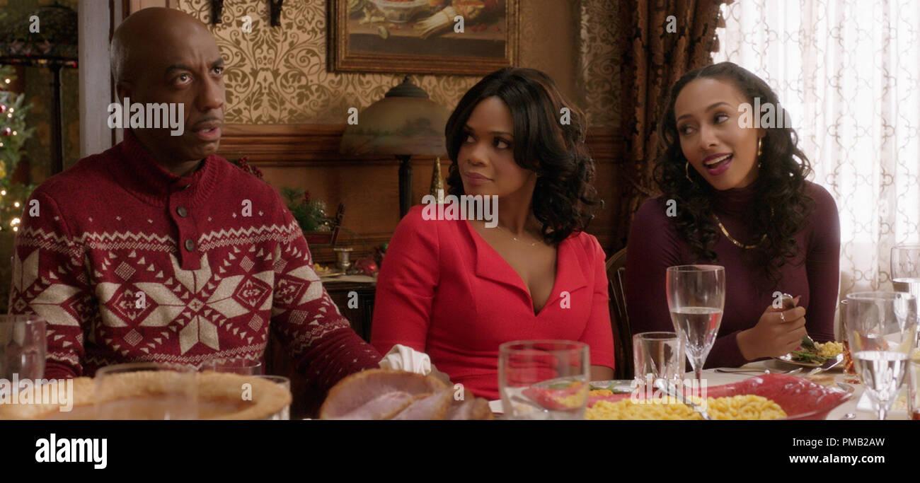 Almost Christmas Jasmine.L To R Lonnie Jb Smoove Tries To Explain To Wife Cheryl
