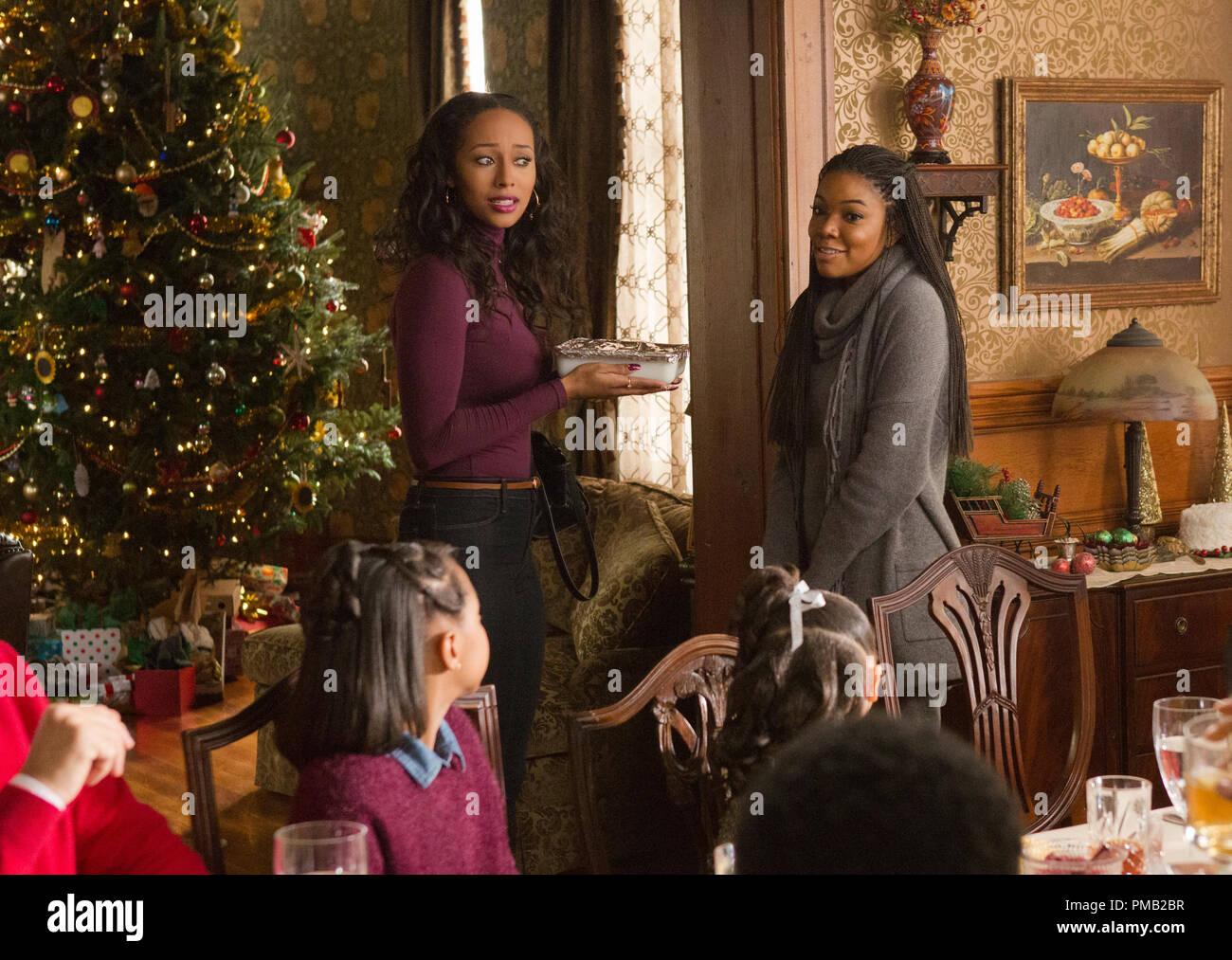 Almost Christmas Jasmine.L To R Jasmine Keri Hilson Greets Rachel Gabrielle Union