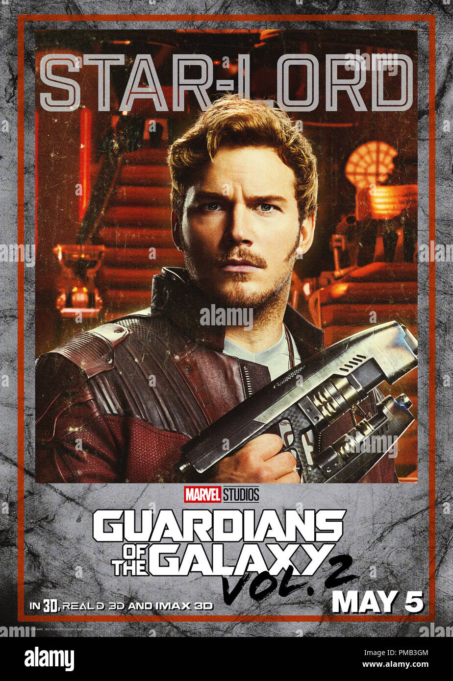 Guardians Of The Galaxy Vol 2 2017 Marvel Disney Poster Stock Photo Alamy