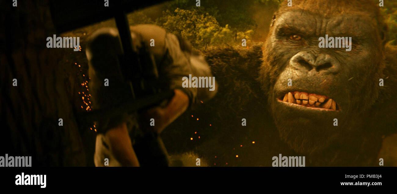 Kong Skull Island 2017 Warner Bros Entertainment Inc King Kong Stock Photo Alamy