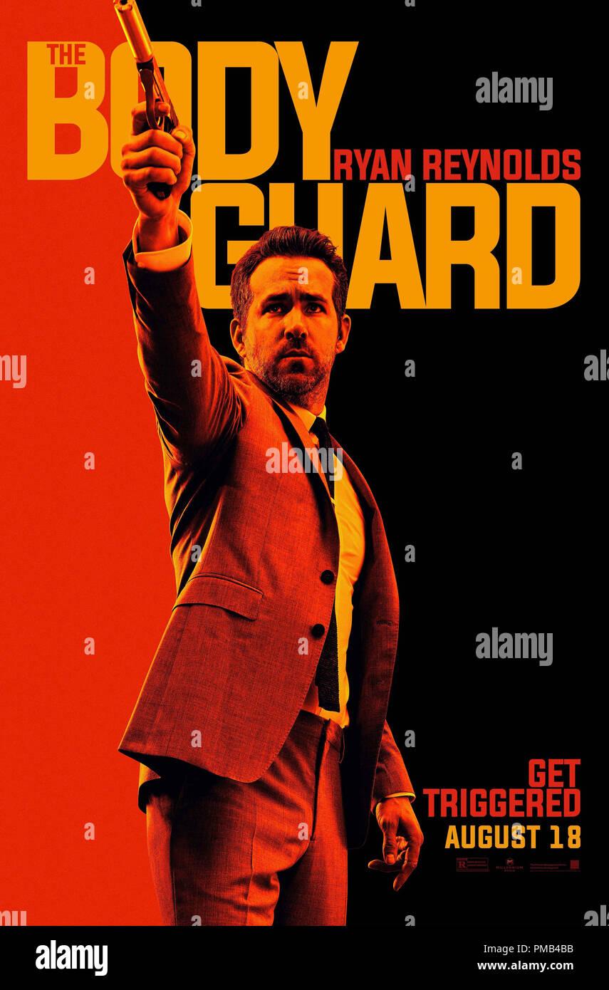 The Hitmans Bodygaurd (2017) Summit Entertainment  Poster Stock Photo