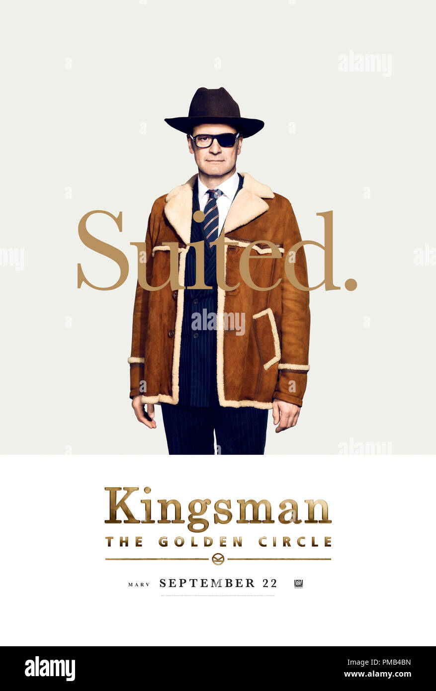 Kingsman The Golden Circle 2017 Twentieth Century Fox Film Corporation Poster Stock Photo Alamy