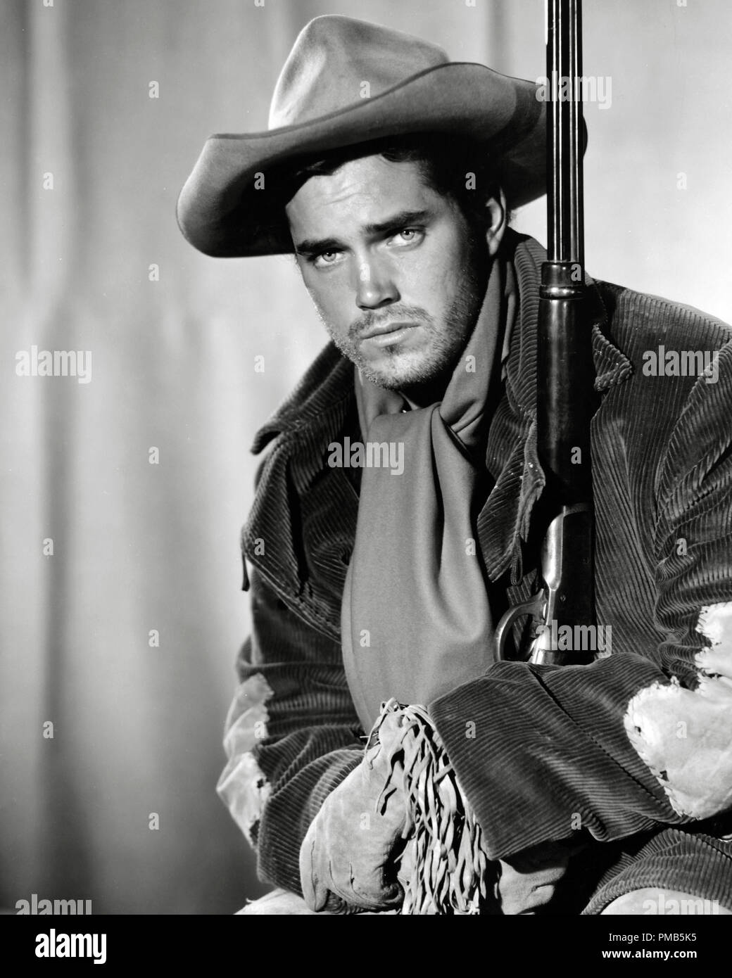 Jeffrey Hunter, 'The Searchers' 1956 Warner Bros.    File Reference # 33536_581THA - Stock Image
